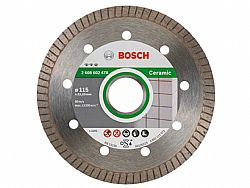 Διαμαντόδισκος Κοπής 115mm Best for Ceramic Extraclean Turbo BOSCH